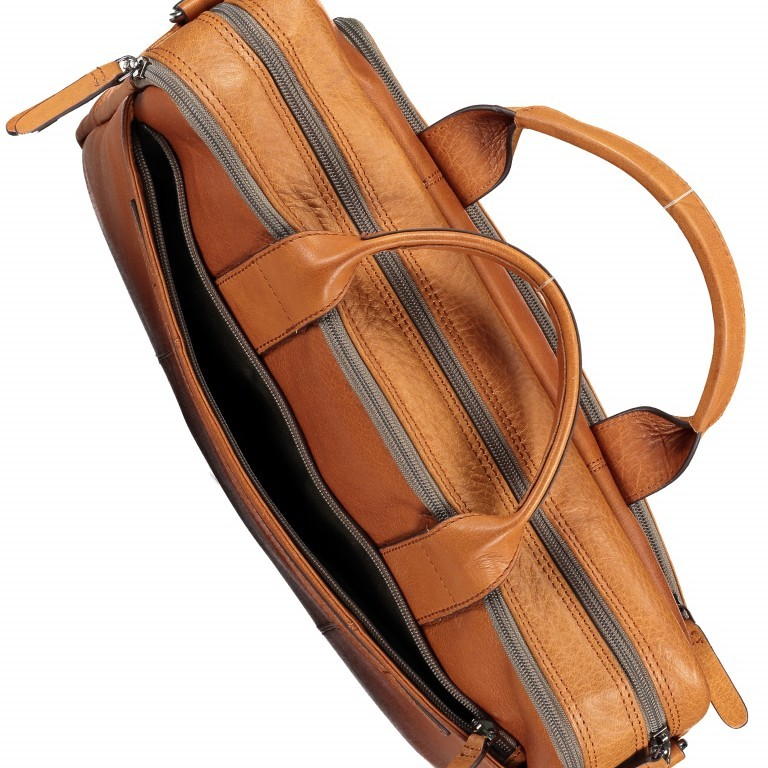 Aktentasche Hyde Park Briefbag SHZ Cognac, Farbe: cognac, Marke: Strellson, EAN: 4053533807741, Abmessungen in cm: 40.0x30.0x10.0, Bild 13 von 13