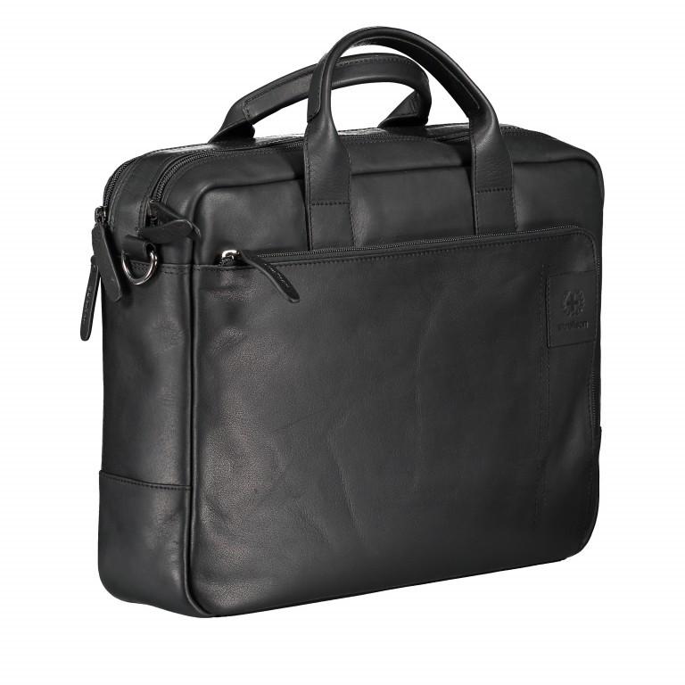 Aktentasche Hyde Park Briefbag SHZ Black, Farbe: schwarz, Marke: Strellson, EAN: 4053533807758, Abmessungen in cm: 40.0x30.0x10.0, Bild 2 von 13
