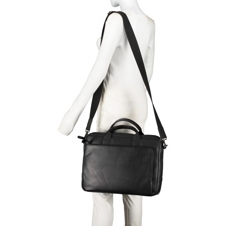 Aktentasche Hyde Park Briefbag SHZ Black, Farbe: schwarz, Marke: Strellson, EAN: 4053533807758, Abmessungen in cm: 40.0x30.0x10.0, Bild 6 von 13