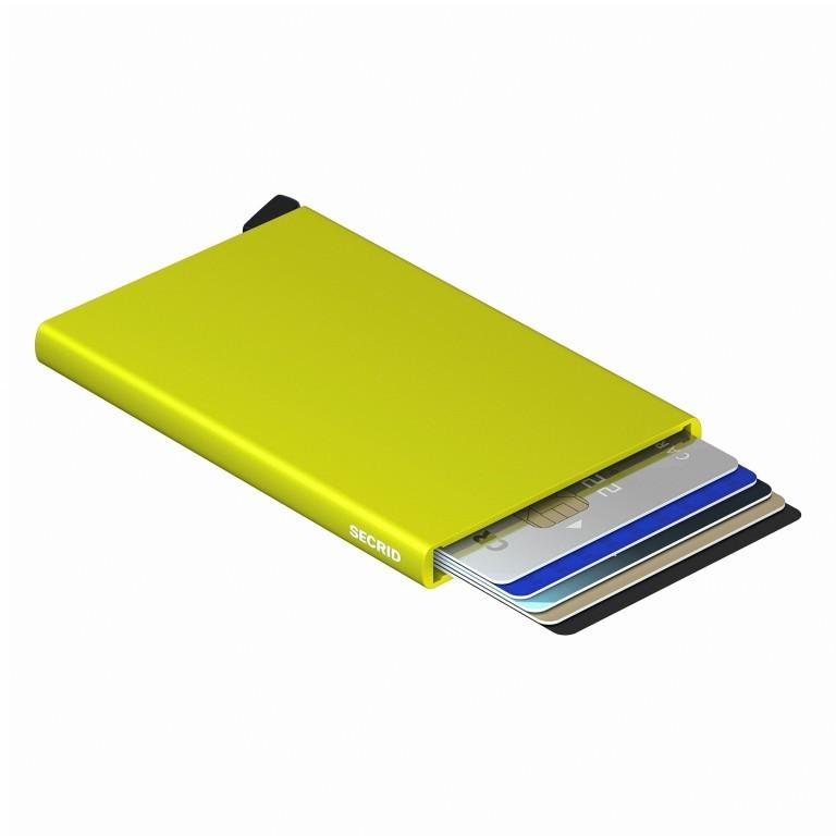 Kartenetui Cardprotector Lime, Farbe: grün/oliv, Marke: Secrid, EAN: 8718215287148, Abmessungen in cm: 6.3x10.2x0.8, Bild 1 von 3