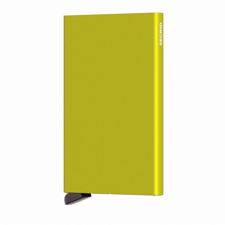 Kartenetui Cardprotector Lime, Farbe: grün/oliv, Marke: Secrid, EAN: 8718215287148, Abmessungen in cm: 6.3x10.2x0.8, Bild 2 von 3