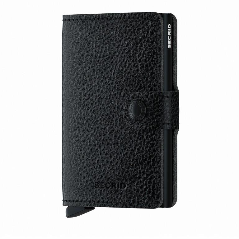 Geldbörse Miniwallet Veg Tanned Black, Farbe: schwarz, Marke: Secrid, EAN: 8718215288145, Abmessungen in cm: 6.8x10.2x2.1, Bild 1 von 5