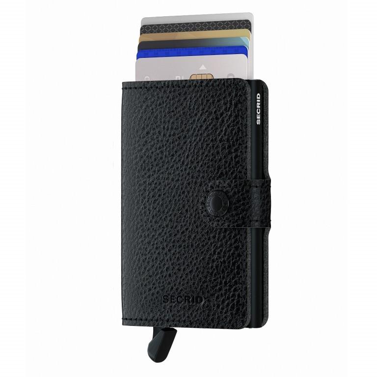 Geldbörse Miniwallet Veg Tanned Black, Farbe: schwarz, Marke: Secrid, EAN: 8718215288145, Abmessungen in cm: 6.8x10.2x2.1, Bild 5 von 5