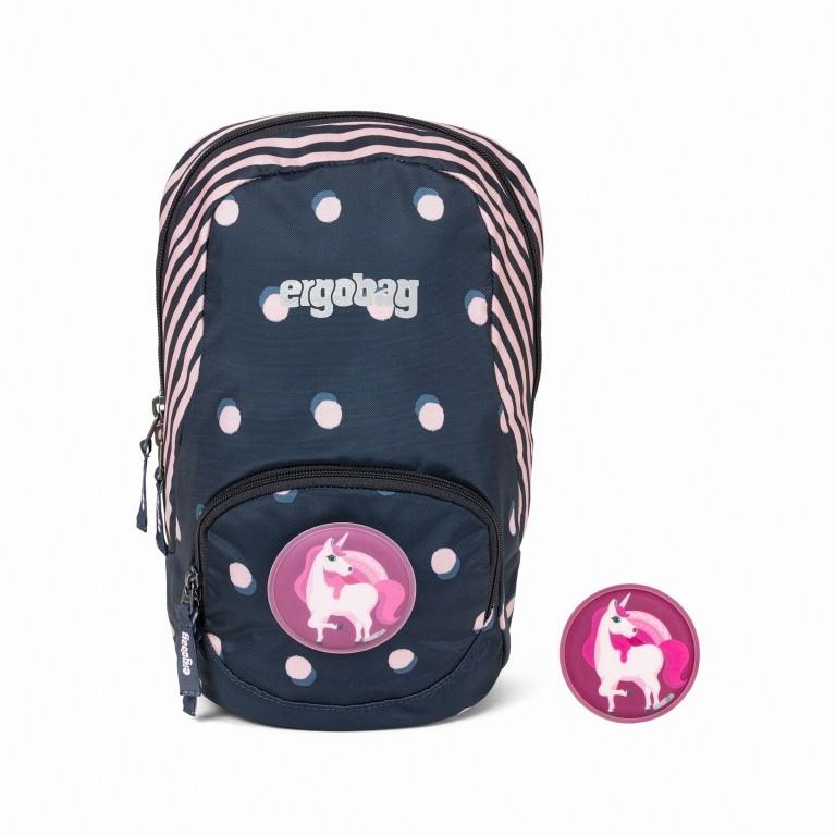 Kinderrucksack Ease Small, Farbe: blau/petrol, grün/oliv, rosa/pink, Marke: Ergobag, Abmessungen in cm: 18.5x30.0x18.5, Bild 1 von 1