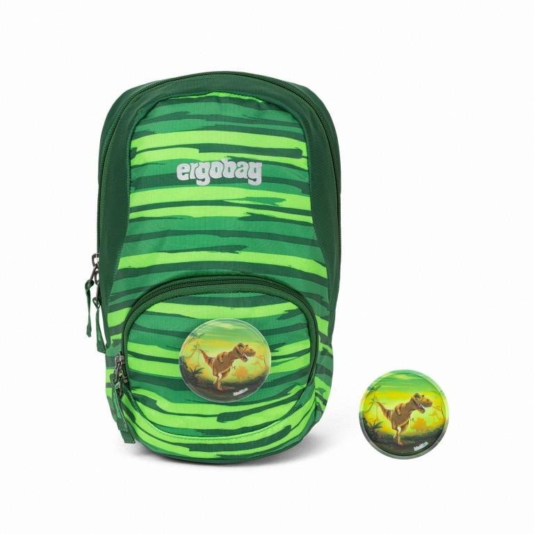 Kinderrucksack Ease Small Bärtram, Farbe: grün/oliv, Marke: Ergobag, EAN: 4057081074105, Abmessungen in cm: 18.5x30.0x18.5, Bild 1 von 5