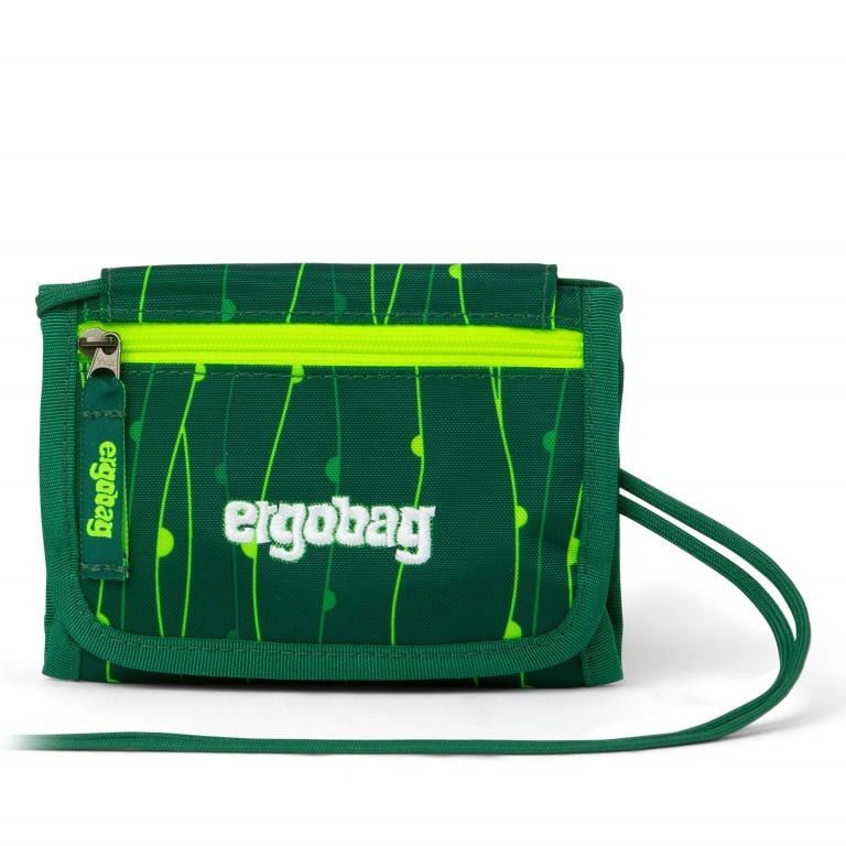 Brustbeutel Lumi Edition RambazamBär, Farbe: grün/oliv, Marke: Ergobag, EAN: 4057081079643, Abmessungen in cm: 10.5x7.0x1.0, Bild 1 von 2