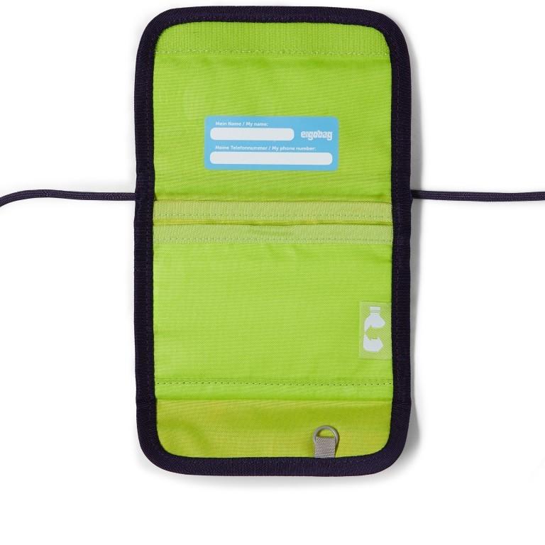 Brustbeutel Lumi Edition RambazamBär, Farbe: grün/oliv, Marke: Ergobag, EAN: 4057081079643, Abmessungen in cm: 10.5x7.0x1.0, Bild 2 von 2