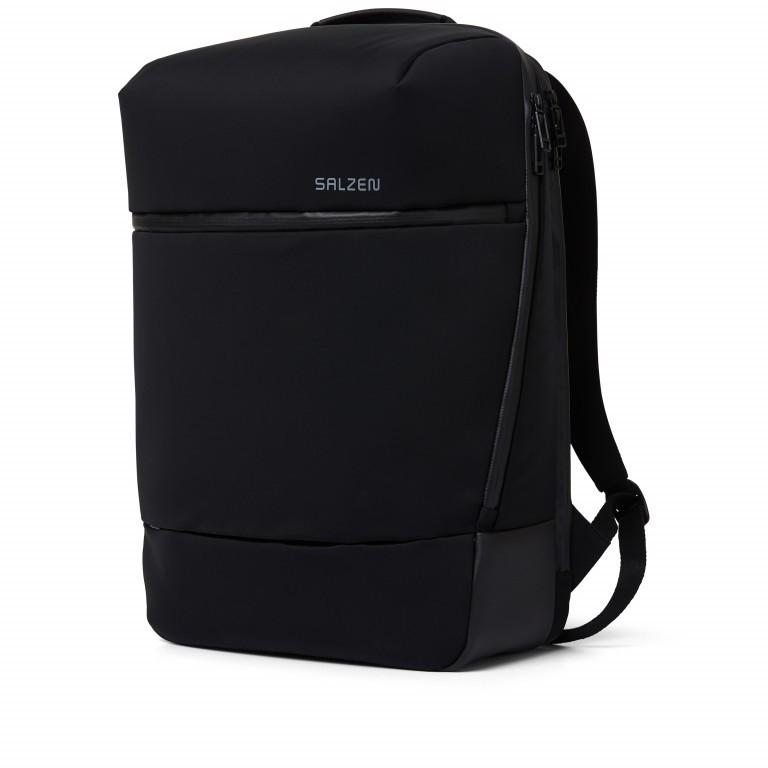 Rucksack Sharp Phantom Black, Farbe: schwarz, Marke: Salzen, EAN: 4057081049516, Abmessungen in cm: 31.0x49.0x19.0, Bild 3 von 15