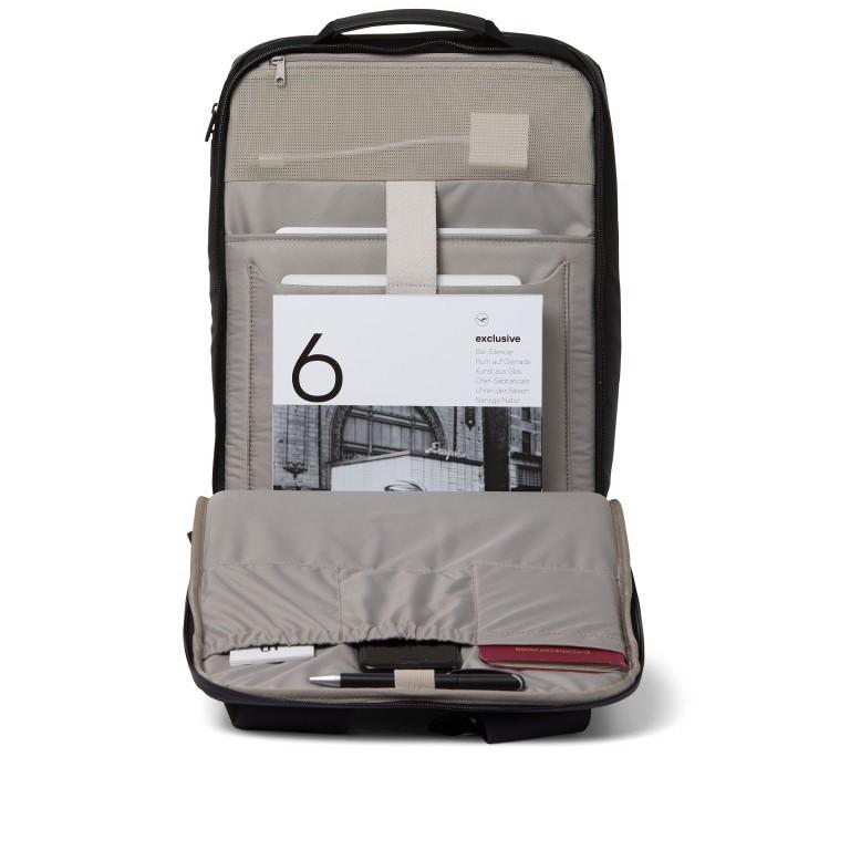 Rucksack Sharp Phantom Black, Farbe: schwarz, Marke: Salzen, EAN: 4057081049516, Abmessungen in cm: 31.0x49.0x19.0, Bild 6 von 15