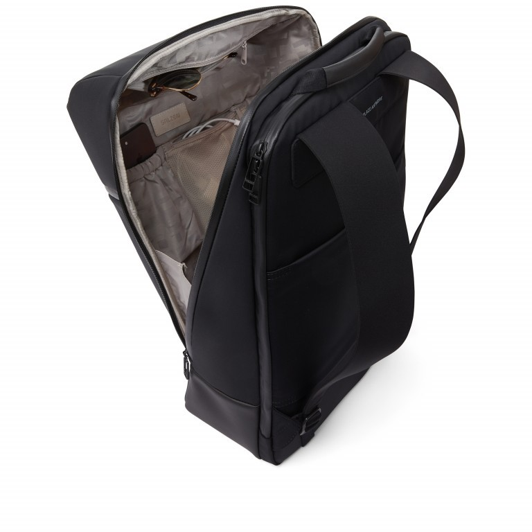 Rucksack Sharp Phantom Black, Farbe: schwarz, Marke: Salzen, EAN: 4057081049516, Abmessungen in cm: 31.0x49.0x19.0, Bild 8 von 15