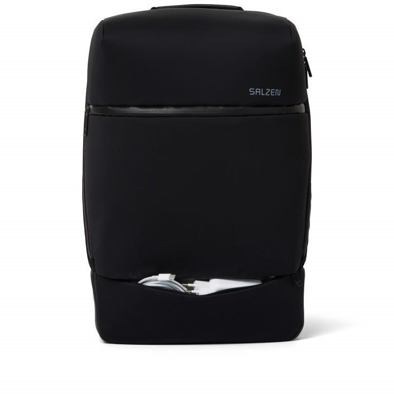 Rucksack Sharp Phantom Black, Farbe: schwarz, Marke: Salzen, EAN: 4057081049516, Abmessungen in cm: 31.0x49.0x19.0, Bild 10 von 15