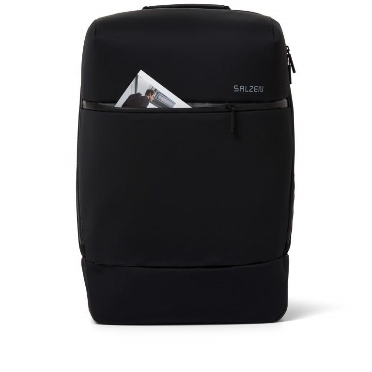 Rucksack Sharp Phantom Black, Farbe: schwarz, Marke: Salzen, EAN: 4057081049516, Abmessungen in cm: 31.0x49.0x19.0, Bild 11 von 15