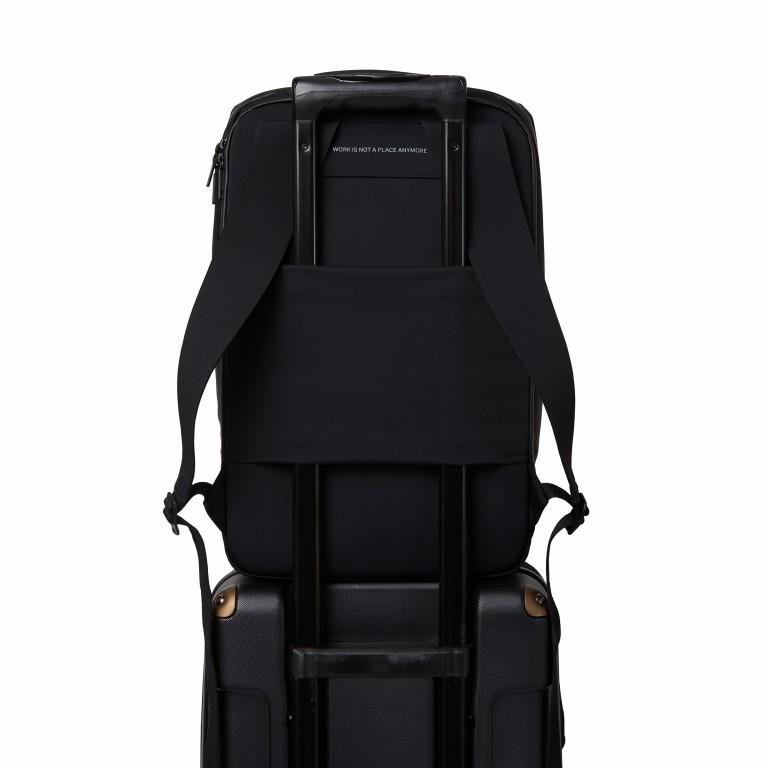 Rucksack Sharp Phantom Black, Farbe: schwarz, Marke: Salzen, EAN: 4057081049516, Abmessungen in cm: 31.0x49.0x19.0, Bild 12 von 15