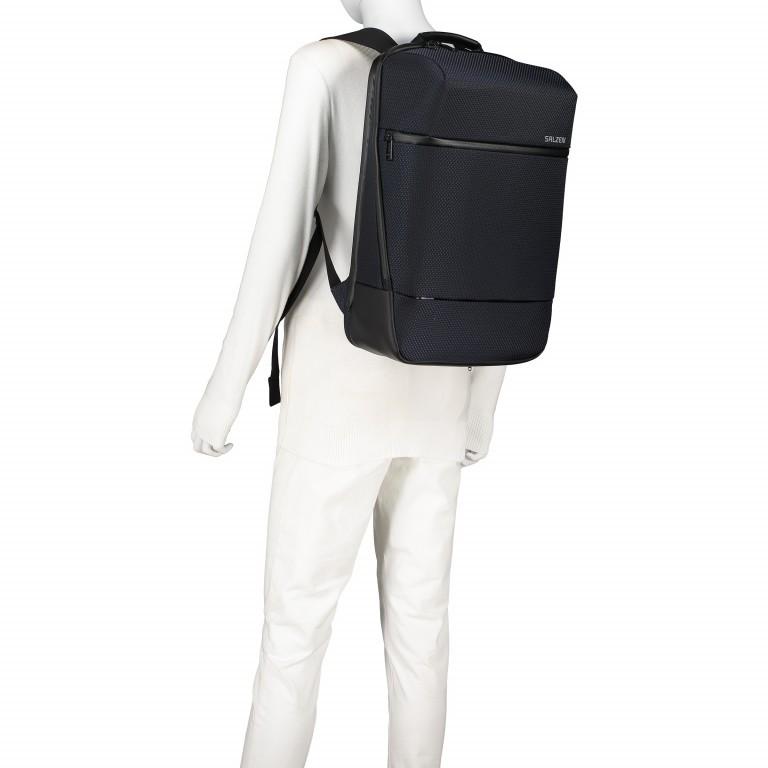 Rucksack Sharp Phantom Black, Farbe: schwarz, Marke: Salzen, EAN: 4057081049516, Abmessungen in cm: 31.0x49.0x19.0, Bild 5 von 15