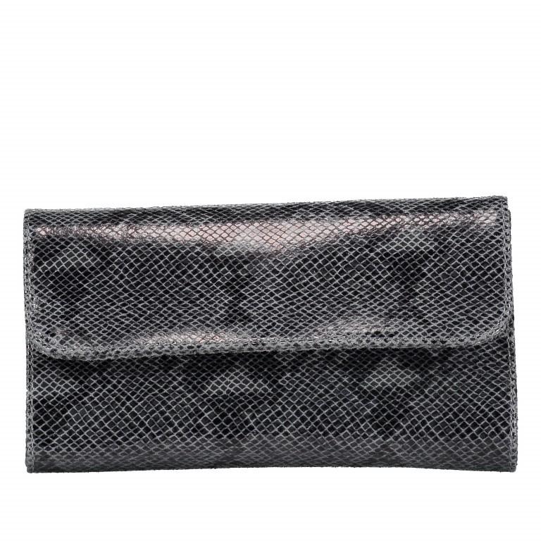 Umhängetasche Snake mit Schulterkette Grau, Farbe: grau, Marke: Hausfelder, EAN: 4065646001695, Abmessungen in cm: 25.5x14.5x4.5, Bild 7 von 7