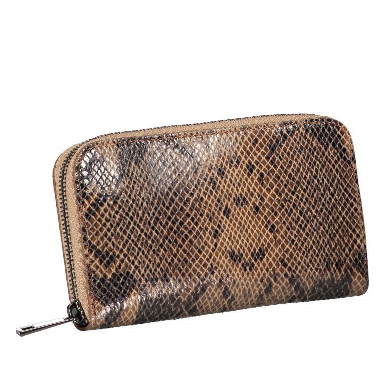 Geldbörse Snake Braun, Farbe: braun, Marke: Hausfelder, EAN: 4065646001633, Abmessungen in cm: 20.0x11.0x2.0, Bild 2 von 5