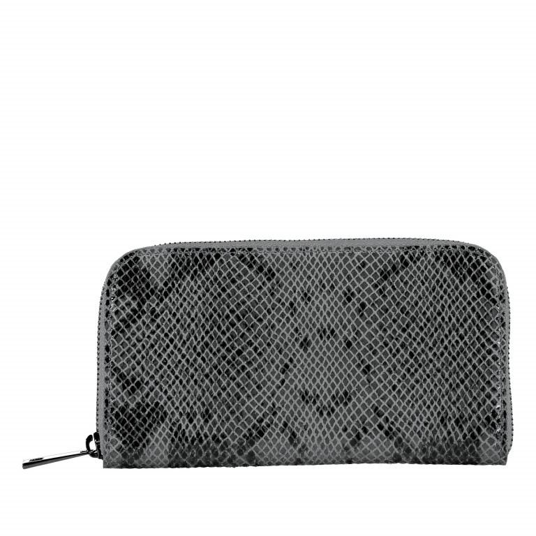 Geldbörse Snake Grau, Farbe: grau, Marke: Hausfelder, EAN: 4065646001640, Abmessungen in cm: 20.0x11.0x2.0, Bild 1 von 5