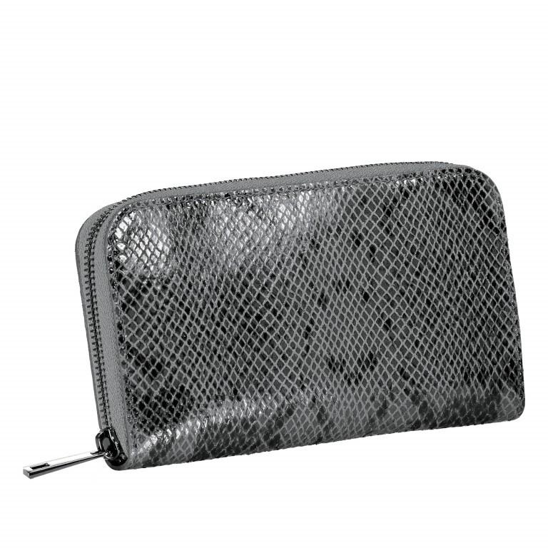 Geldbörse Snake Grau, Farbe: grau, Marke: Hausfelder, EAN: 4065646001640, Abmessungen in cm: 20.0x11.0x2.0, Bild 2 von 5