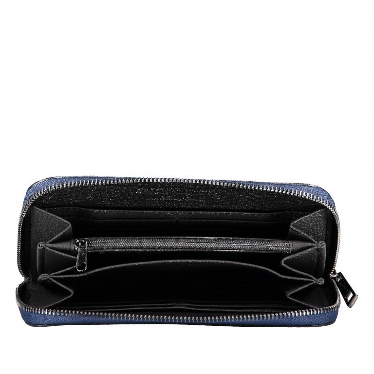 Geldbörse Snake Dunkelblau, Farbe: blau/petrol, Marke: Hausfelder, EAN: 4065646001657, Abmessungen in cm: 20.0x11.0x2.0, Bild 5 von 5