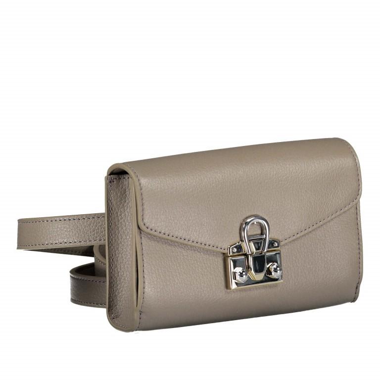 Gürteltasche Mina Hip-/Crossbag 160-575 Feather Grey, Farbe: taupe/khaki, Marke: AIGNER, EAN: 4055539300318, Abmessungen in cm: 18.5x12.0x4.5, Bild 2 von 6
