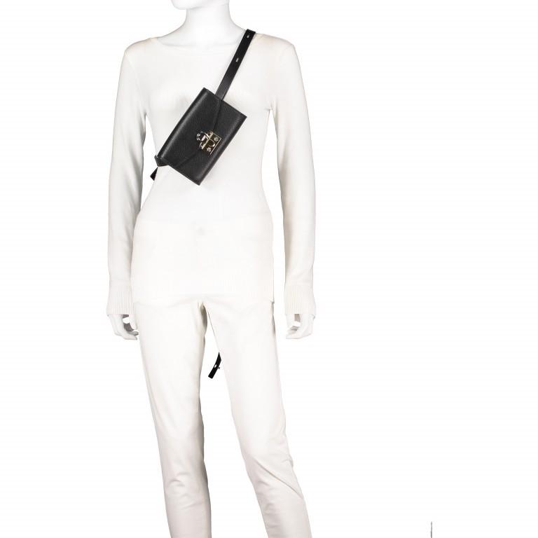 Gürteltasche Mina Hip-/Crossbag 160-575 Feather Grey, Farbe: taupe/khaki, Marke: AIGNER, EAN: 4055539300318, Abmessungen in cm: 18.5x12.0x4.5, Bild 5 von 6