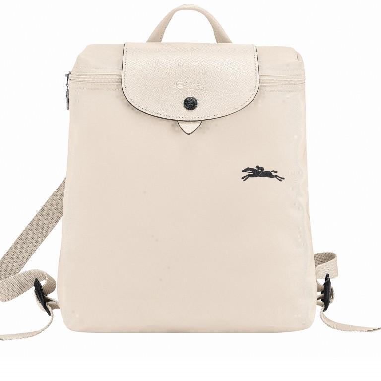 Rucksack Le Pliage Club Rucksack Beige, Farbe: beige, Marke: Longchamp, EAN: 3597921908043, Abmessungen in cm: 26.0x28.0x10.0, Bild 1 von 1