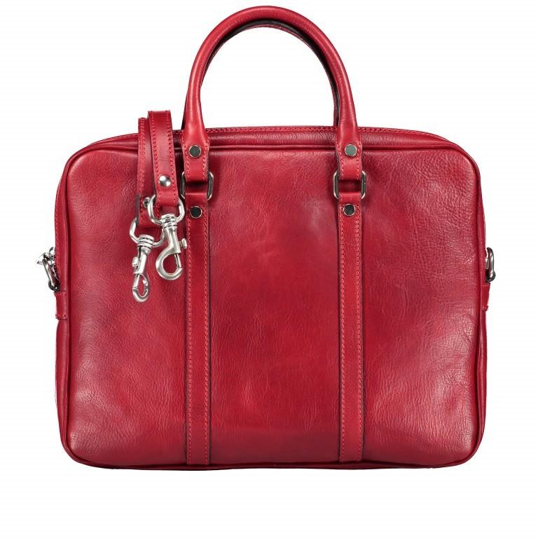 Aktentasche Rot, Farbe: rot/weinrot, Marke: Hausfelder, EAN: 4065646000438, Abmessungen in cm: 37.0x29.0x6.0, Bild 1 von 7