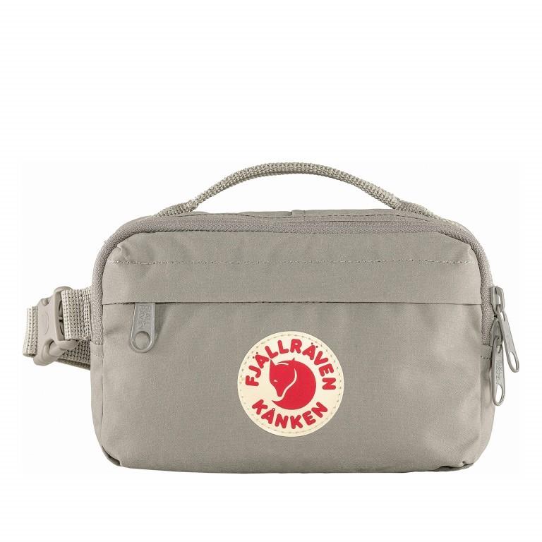 Gürteltasche Kånken Hip Pack Fog, Farbe: grau, Marke: Fjällräven, EAN: 7323450598464, Abmessungen in cm: 18.0x12.0x9.0, Bild 1 von 10