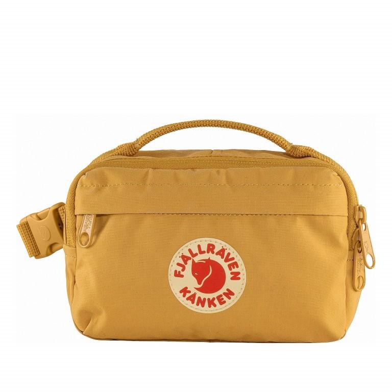 Gürteltasche Kånken Hip Pack Ochre, Farbe: gelb, Marke: Fjällräven, EAN: 7323450598471, Abmessungen in cm: 18.0x12.0x9.0, Bild 1 von 10