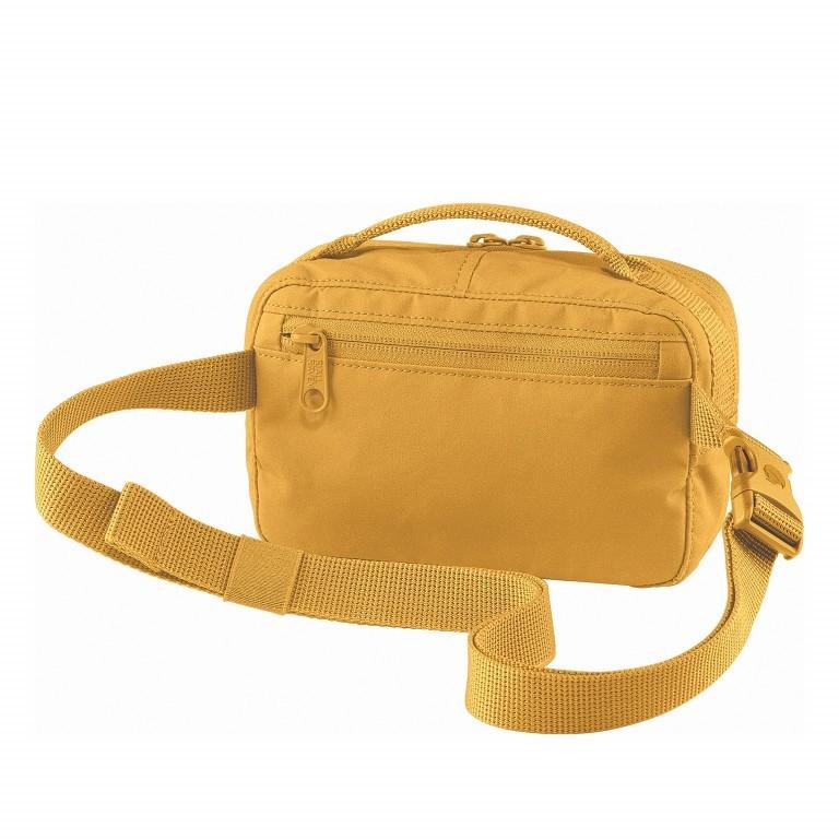 Gürteltasche Kånken Hip Pack Ochre, Farbe: gelb, Marke: Fjällräven, EAN: 7323450598471, Abmessungen in cm: 18.0x12.0x9.0, Bild 2 von 10
