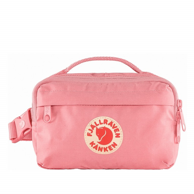 Gürteltasche Kånken Hip Pack Pink, Farbe: rosa/pink, Marke: Fjällräven, EAN: 7323450598488, Abmessungen in cm: 18.0x12.0x9.0, Bild 1 von 10