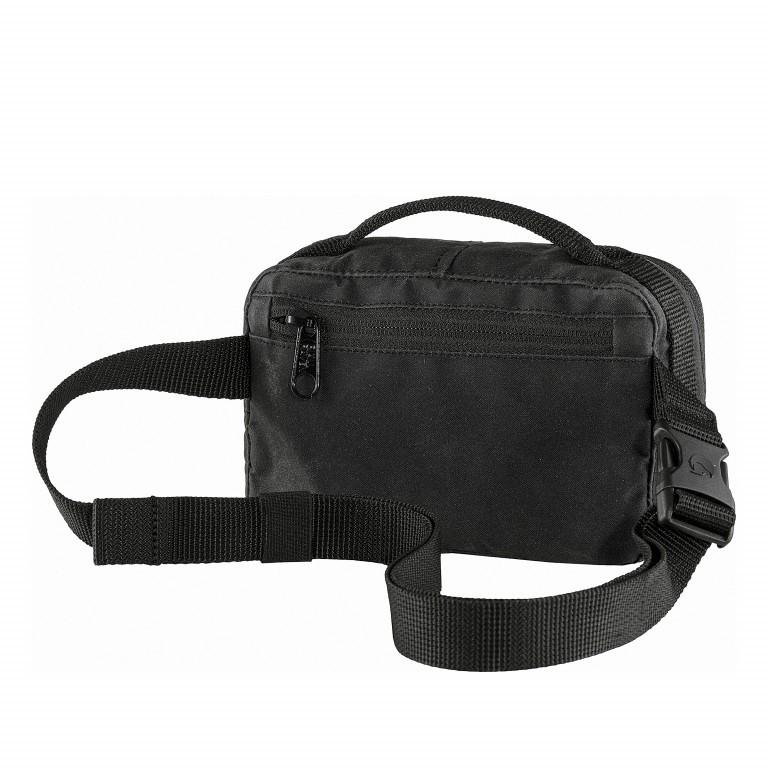 Gürteltasche Kånken Hip Pack Black, Farbe: schwarz, Marke: Fjällräven, EAN: 7323450598495, Abmessungen in cm: 18.0x12.0x9.0, Bild 2 von 10