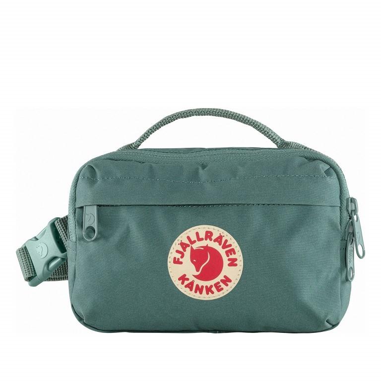 Gürteltasche Kånken Hip Pack Frost Green, Farbe: grün/oliv, Marke: Fjällräven, EAN: 7323450598518, Abmessungen in cm: 18.0x12.0x9.0, Bild 1 von 10