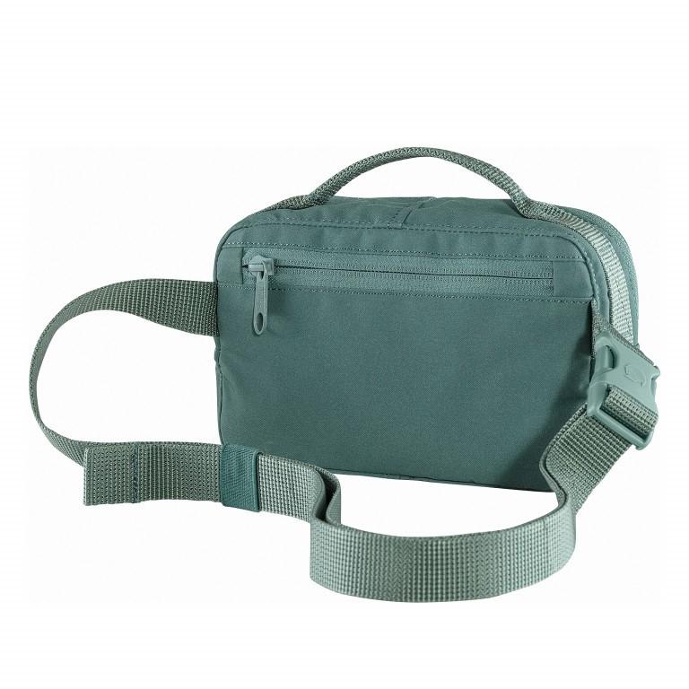 Gürteltasche Kånken Hip Pack Frost Green, Farbe: grün/oliv, Marke: Fjällräven, EAN: 7323450598518, Abmessungen in cm: 18.0x12.0x9.0, Bild 2 von 10