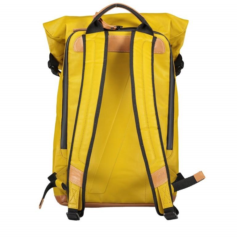 Rucksack Japan Tokio Arrowwood, Farbe: gelb, Marke: Aunts & Uncles, EAN: 4250394957350, Abmessungen in cm: 24.0x40.0x12.0, Bild 4 von 9
