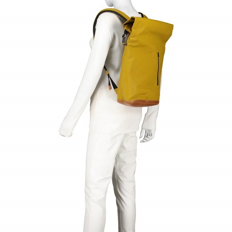 Rucksack Japan Tokio Arrowwood, Farbe: gelb, Marke: Aunts & Uncles, EAN: 4250394957350, Abmessungen in cm: 24.0x40.0x12.0, Bild 5 von 9