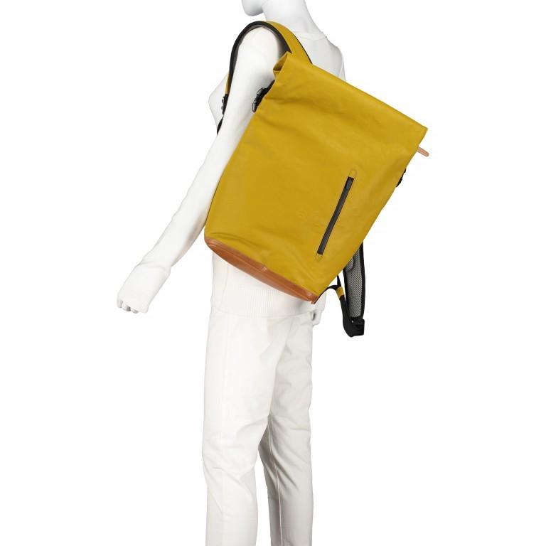 Rucksack Japan Tokio Arrowwood, Farbe: gelb, Marke: Aunts & Uncles, EAN: 4250394957350, Abmessungen in cm: 24.0x40.0x12.0, Bild 6 von 9