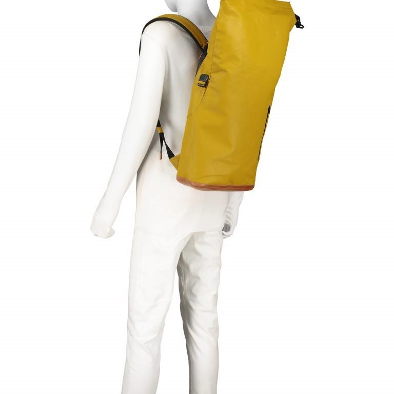 Rucksack Japan Tokio Arrowwood, Farbe: gelb, Marke: Aunts & Uncles, EAN: 4250394957350, Abmessungen in cm: 24.0x40.0x12.0, Bild 7 von 9