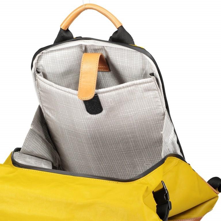 Rucksack Japan Tokio Arrowwood, Farbe: gelb, Marke: Aunts & Uncles, EAN: 4250394957350, Abmessungen in cm: 24.0x40.0x12.0, Bild 8 von 9