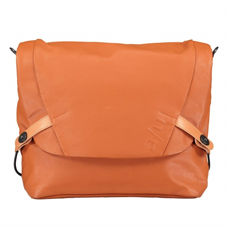 Kuriertasche Japan Matsumoto Glazed Ginger, Farbe: orange, Marke: Aunts & Uncles, EAN: 4250394957503, Abmessungen in cm: 36.0x25.0x8.5, Bild 8 von 8