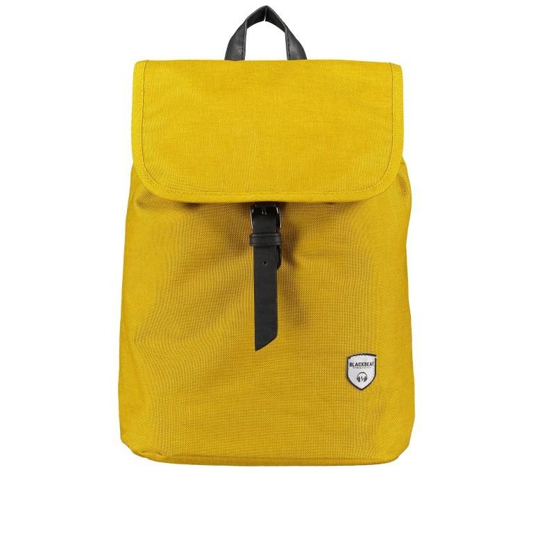Rucksack Heaven FU51-1182 Ocker, Farbe: gelb, Marke: Blackbeat, EAN: 8720088703519, Abmessungen in cm: 25.0x33.0x13.0, Bild 1 von 6