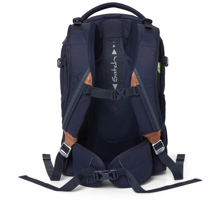 Rucksack Pack Special Edition Nordic Blue, Farbe: blau/petrol, Marke: Satch, EAN: 4057081061709, Abmessungen in cm: 30.0x45.0x22.0, Bild 5 von 11