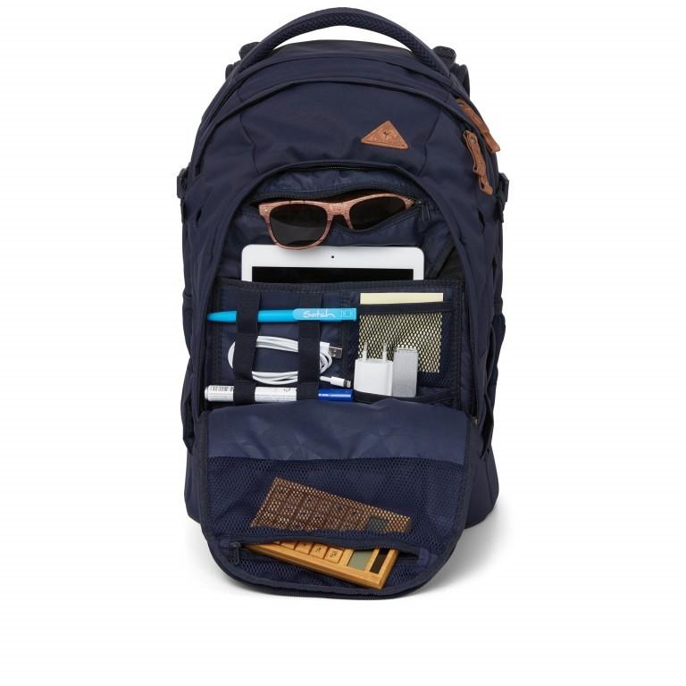 Rucksack Pack Special Edition Nordic Blue, Farbe: blau/petrol, Marke: Satch, EAN: 4057081061709, Abmessungen in cm: 30.0x45.0x22.0, Bild 11 von 11