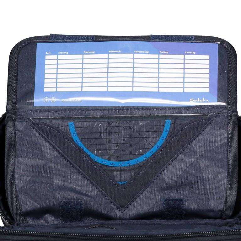 Schlamperbox Special Nordic Blue, Farbe: blau/petrol, Marke: Satch, EAN: 4057081061716, Abmessungen in cm: 23.0x12.5x7.0, Bild 5 von 5