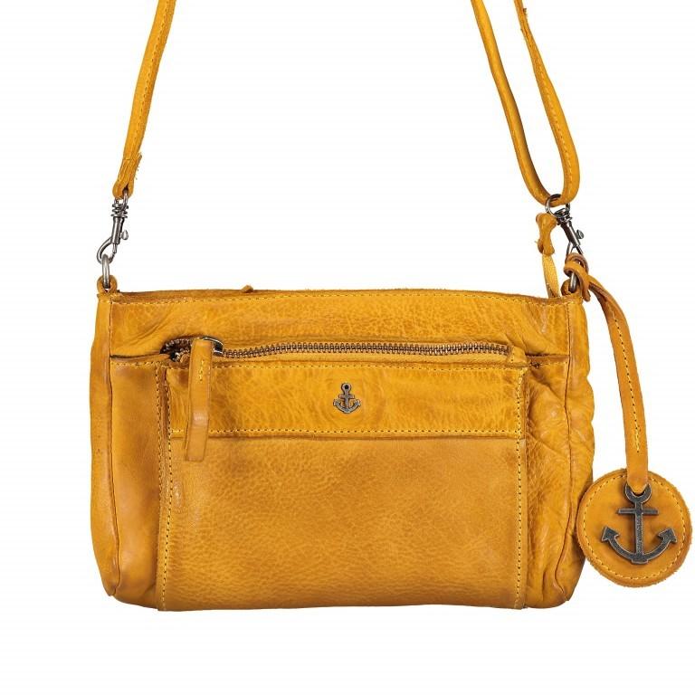 Umhängetasche / Gürteltasche Anchor-Love Violetta B3.9806 Oriental Mustard, Farbe: gelb, Marke: Harbour 2nd, EAN: 4046478043817, Abmessungen in cm: 21.0x16.0x4.0, Bild 1 von 11