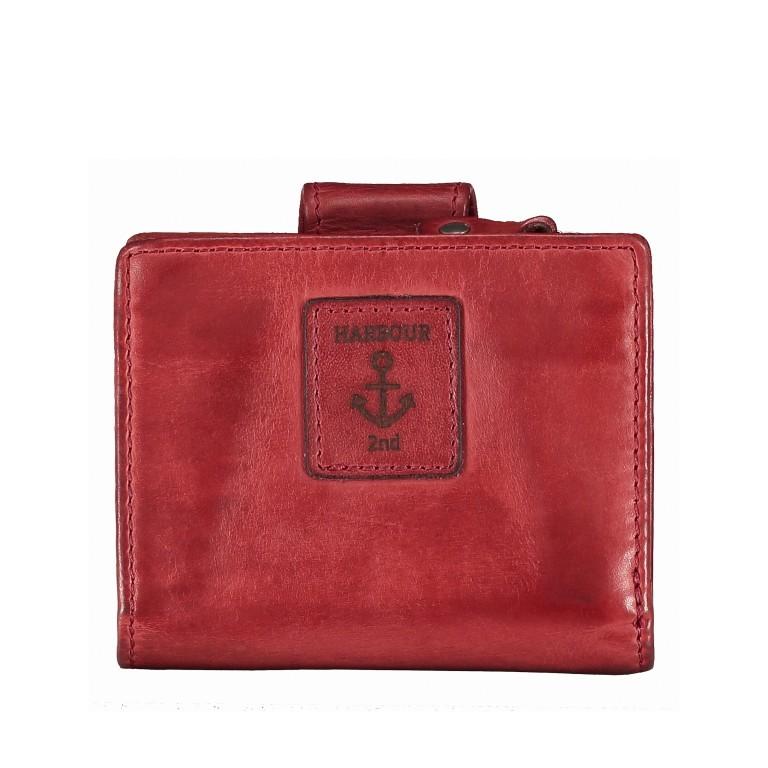 Geldbörse Anchor-Love Stella B3.1547, Farbe: anthrazit, grau, blau/petrol, cognac, grün/oliv, rot/weinrot, orange, gelb, Marke: Harbour 2nd, Abmessungen in cm: 10.5x8.5x3.0, Bild 2 von 5