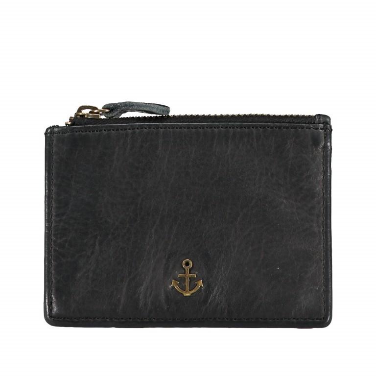 Schlüsseletui Anchor-Love Alex B3.2230 mit Kartenfächern Dark Ash, Farbe: anthrazit, Marke: Harbour 2nd, EAN: 4046478044203, Abmessungen in cm: 11.0x8.0x0.5, Bild 1 von 4