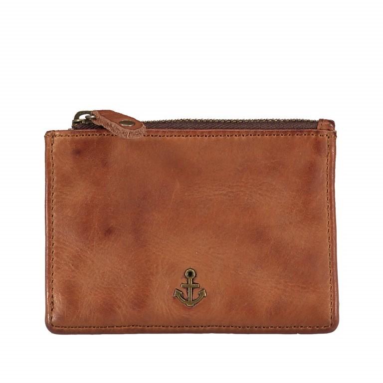 Schlüsseletui Anchor-Love Alex B3.2230 mit Kartenfächern Charming Cognac, Farbe: cognac, Marke: Harbour 2nd, EAN: 4046478044210, Abmessungen in cm: 11.0x8.0x0.5, Bild 1 von 4