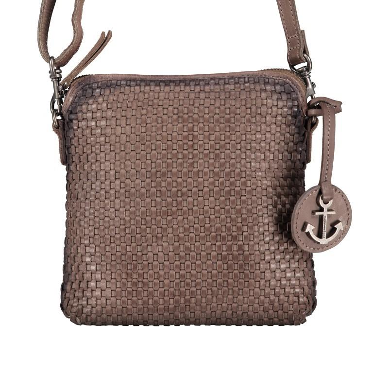 Umhängetasche Soft-Weaving Thelma B3.9786 Stone Grey, Farbe: grau, Marke: Harbour 2nd, EAN: 4046478044326, Abmessungen in cm: 19.5x20.0x3.0, Bild 1 von 6