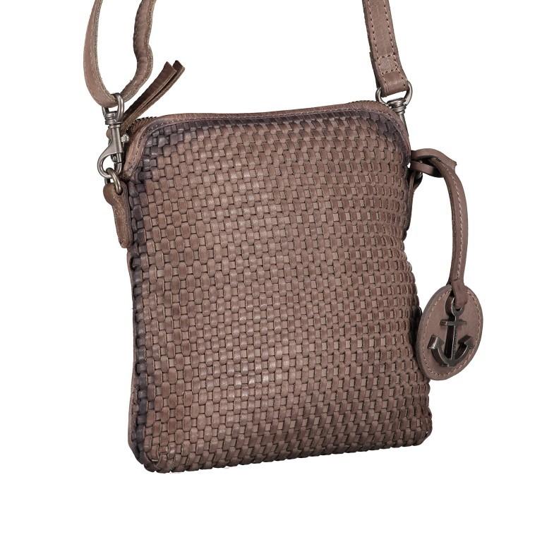 Umhängetasche Soft-Weaving Thelma B3.9786 Stone Grey, Farbe: grau, Marke: Harbour 2nd, EAN: 4046478044326, Abmessungen in cm: 19.5x20.0x3.0, Bild 2 von 6